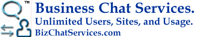 Business Chat Services™ | Free Installs, Unlimited Agents, Sites, and Usage.
